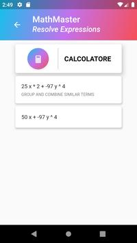 MathMaster - Solve Expressions screenshot 4