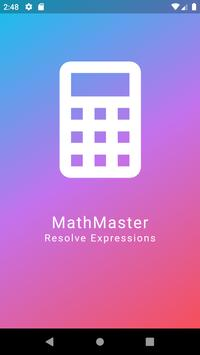 MathMaster - Solve Expressions poster