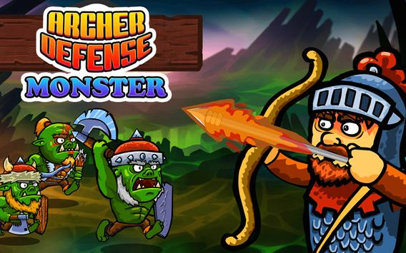 Archer Defense Monster poster