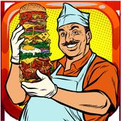 Fast Burger Restaurant icon