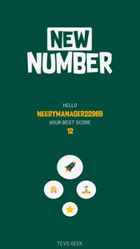 New Number : Test Your Memory poster
