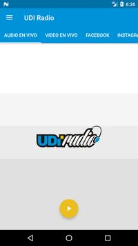 UDI Radio poster