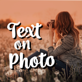 Add Text On Photo - Photo Text Editor icon