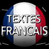 Textes français icon
