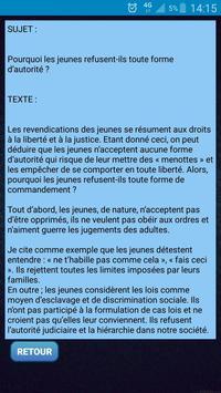 Textes français screenshot 5