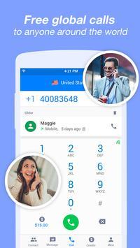 الرسائل النصية والمكالمات المجانية تصوير الشاشة 1
