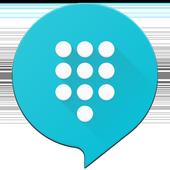TextMe Up Free Calling & Texts アイコン