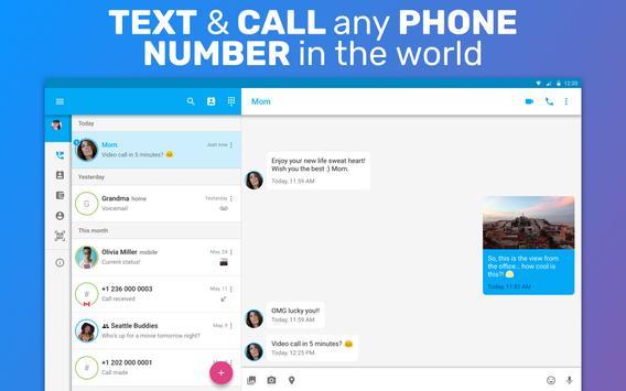 TextMe Up Free Calling & Texts скриншот 5