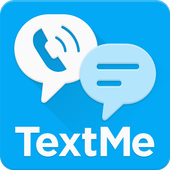 Text Me: Text Free, Call Free, Second Phone Number иконка