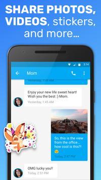 Text Me: Text Free, Call Free, Second Phone Number ảnh chụp màn hình 2