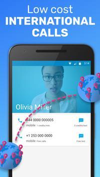 Text Me: Text Free, Call Free, Second Phone Number ảnh chụp màn hình 3
