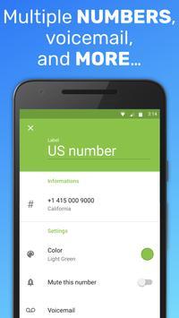 Text Me: Text Free, Call Free, Second Phone Number ảnh chụp màn hình 4