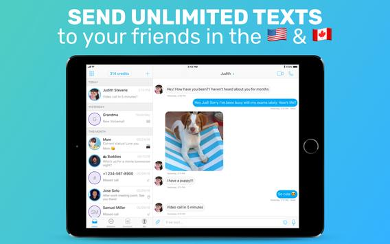 FreeTone Free Calls & Texting скриншот 5