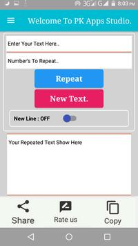 Text Repeater App For Android Free Download 2019 1 (Android