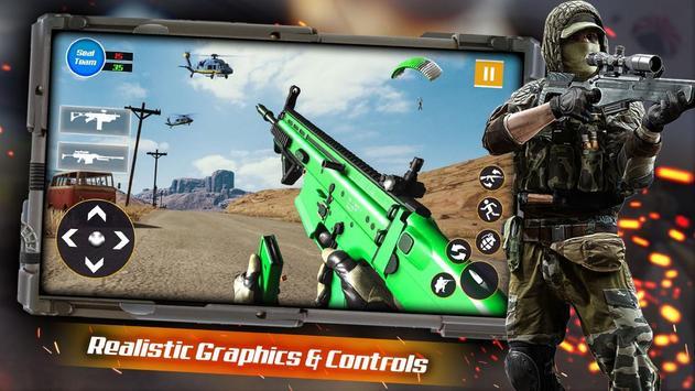 Call for Counter Gun Strike of duty mobile shooter screenshot 12