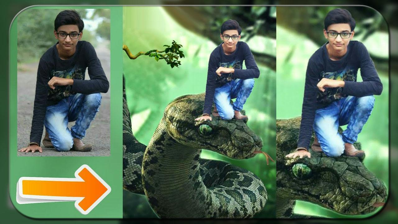 Snake Photo Editor - Selfie with Snake for Android - APK