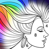 Paint by Number: Free Coloring Book biểu tượng