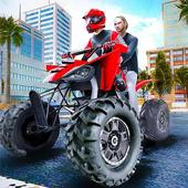 ATV Quad Bike Taxi 2019: Bike Simulator Games icon
