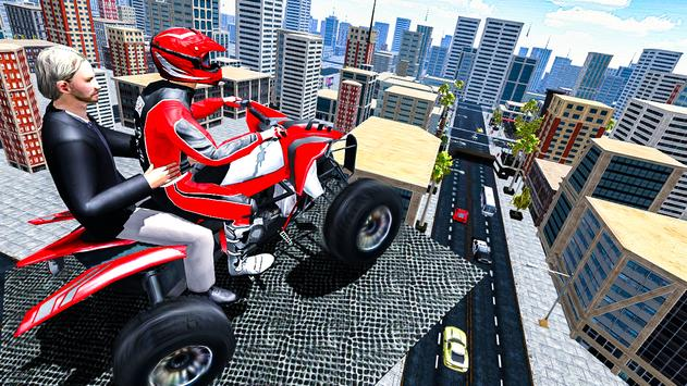 ATV Quad Bike Taxi 2019: Bike Simulator Games screenshot 10