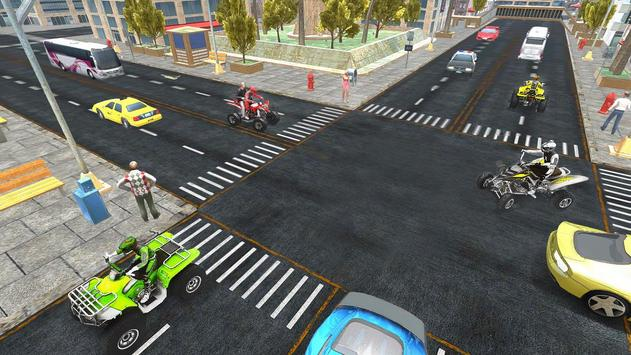 ATV Quad Bike Taxi 2019: Bike Simulator Games screenshot 11