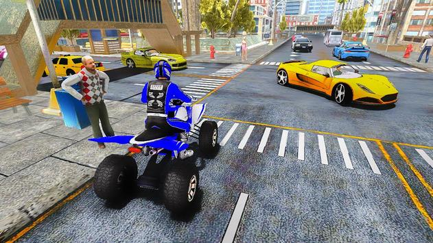 ATV Quad Bike Taxi 2019: Bike Simulator Games screenshot 2
