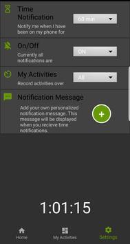 TimeGurus - Time Management, Usage Tracker screenshot 4