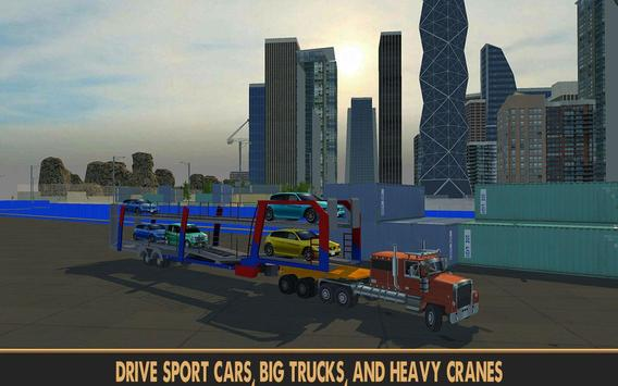 Practise Crane & Labor Truck screenshot 5