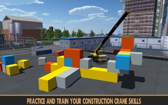 Practise Crane & Labor Truck screenshot 13