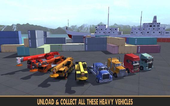 Practise Crane & Labor Truck screenshot 14