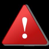 Warning light icon