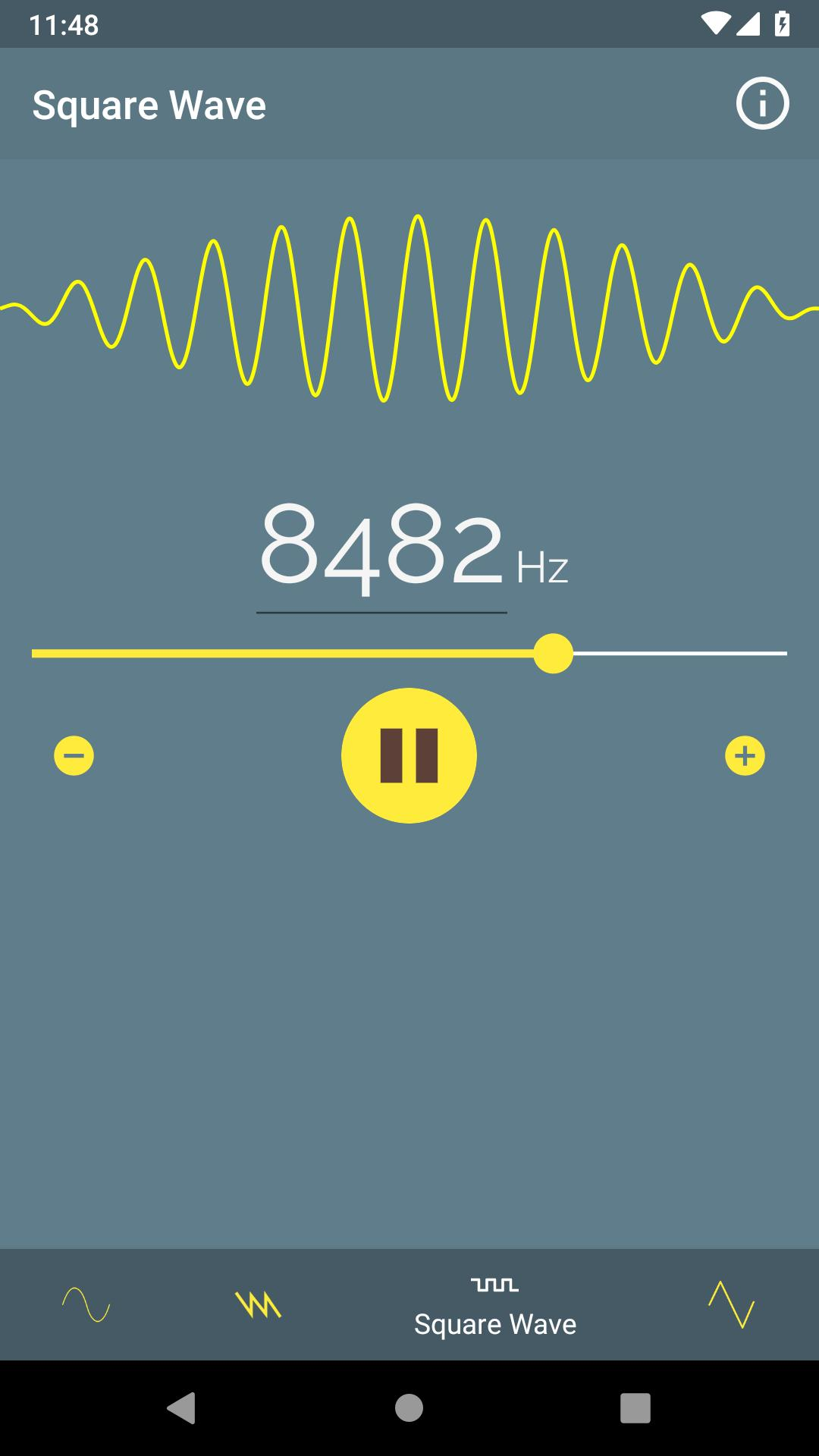 Sound Frequency Generator ♫ (1Hz - 25kHz) for Android - APK Download