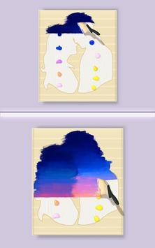 Silhouette Art Affiche