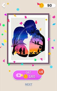 Silhouette Art capture d'écran 3