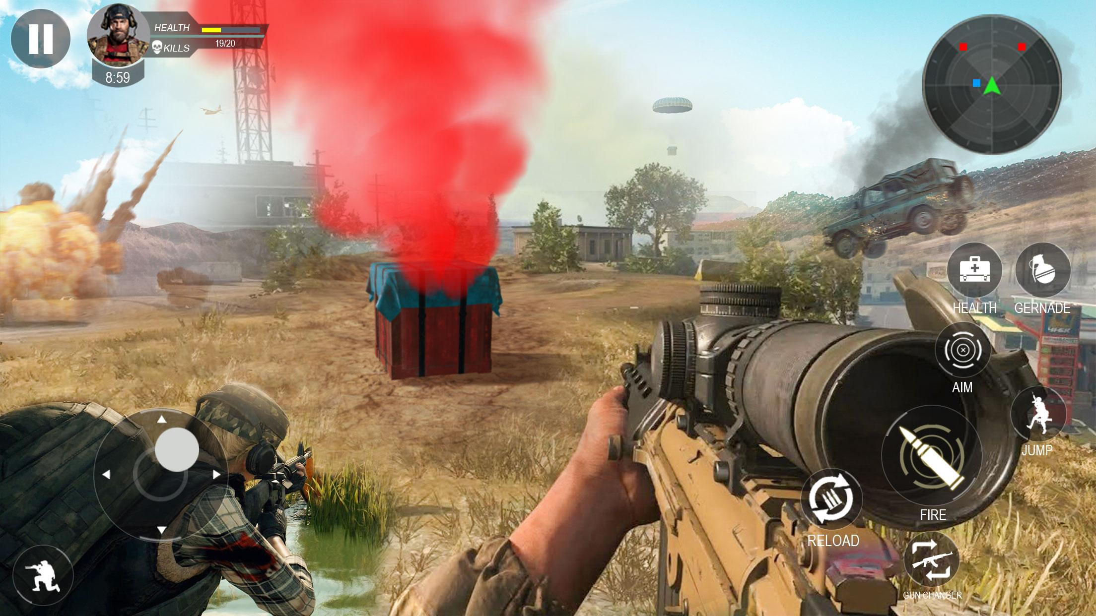 Modern Forces Free Fire Shooting New Games 2021 For Android Apk Download