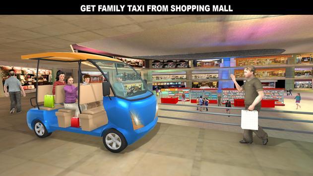 購物中心拉什出租車:城市司機模擬器 截圖 4