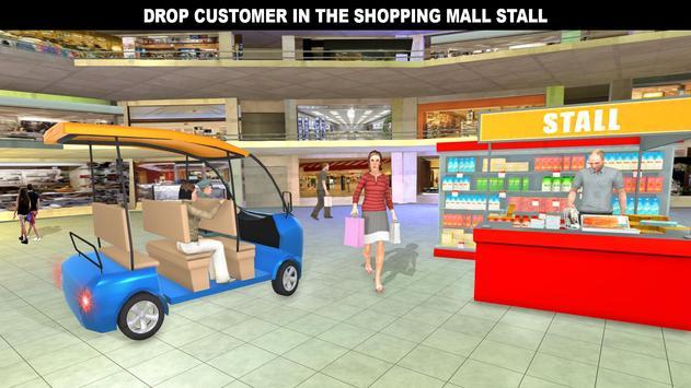 購物中心拉什出租車:城市司機模擬器 截圖 7