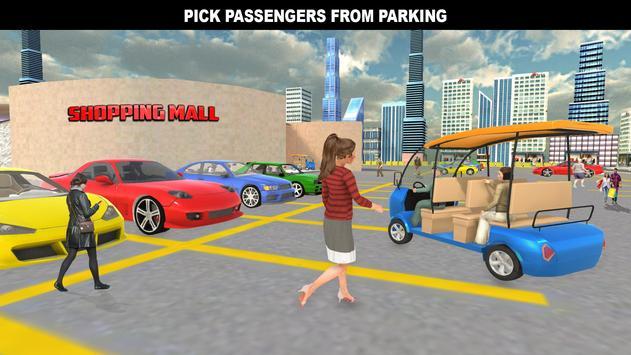 購物中心拉什出租車:城市司機模擬器 截圖 11