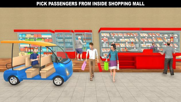 購物中心拉什出租車:城市司機模擬器 截圖 3
