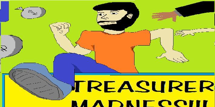 Treasurer Madness poster