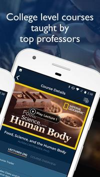 The Great Courses Plus - Online Learning Videos screenshot 1
