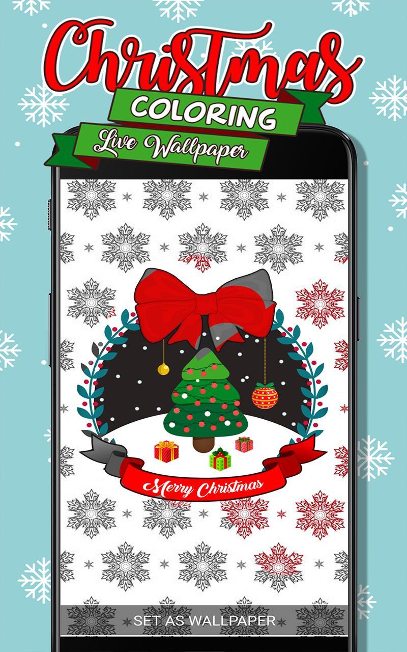 Kleuren Bewegende Achtergrond Kerstmis For Android Apk