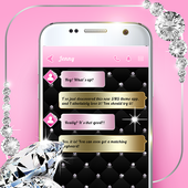 Diamond SMS Texting App icon