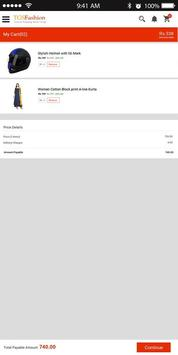 TGSfashion-Smart App for online Merchant Solution screenshot 2