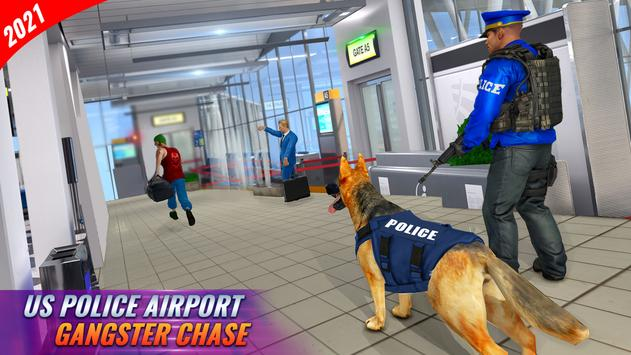 Police Dog Airport Crime Chase poster