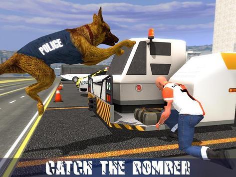 Polícia Dog Aeroporto Crime imagem de tela 11