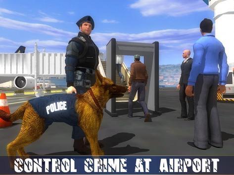 Polícia Dog Aeroporto Crime imagem de tela 13