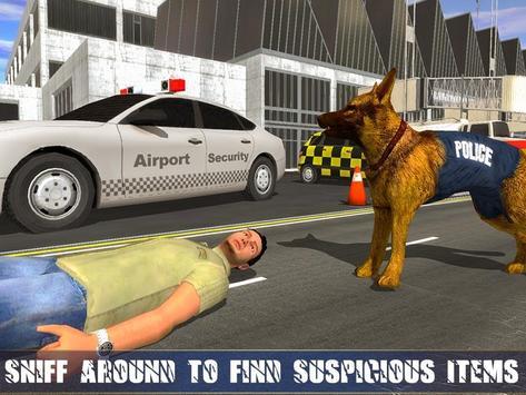 Polícia Dog Aeroporto Crime imagem de tela 2