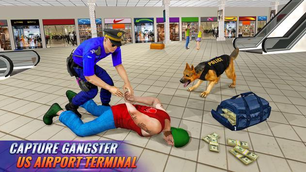 Police Dog Airport Crime Chase screenshot 2