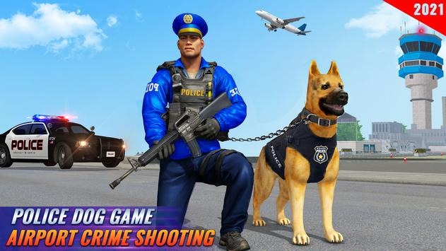 Police Dog Airport Crime Chase screenshot 4
