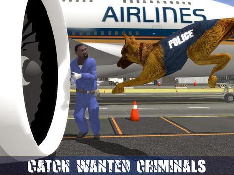 Polícia Dog Aeroporto Crime imagem de tela 9